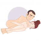The Curled Angel Sex Position