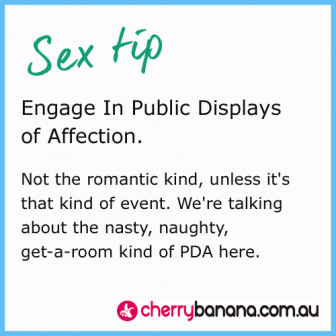 Sex tip