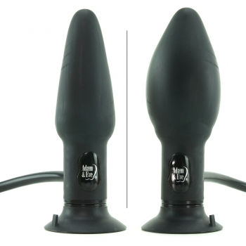 Adam & Eve Vibrating Inflatable Anal Plug