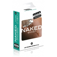 Four Seasons Naked Shiver Regular Condoms 6 Pack