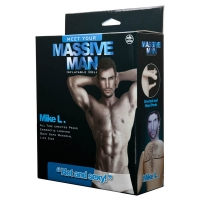 Massive Man Mike L Inflatable Love Doll