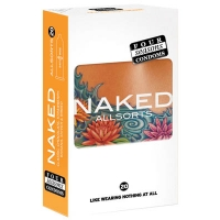 Four Seasons Naked Allsorts Regular Condoms 20 Pack