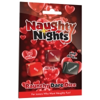 Naughty Nights Raunchy Dare Dice Game