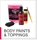 body paints and body toppings