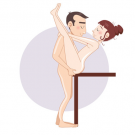 The Erotic V Sex Position