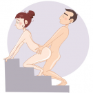 The Stair Master Sex Position