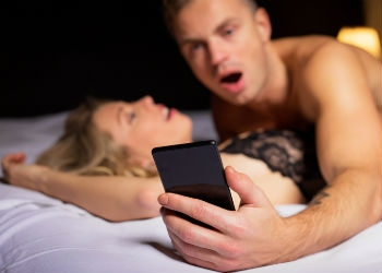 Would You Check Your Phone During Sex?