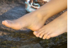 One Sexy Foot In Front Of The Other