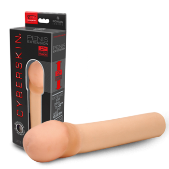 Cyberskin 2'' Xtra Thick Transformer Penis Sleeve