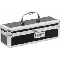 Lockable Medium Sex Toy Case Black