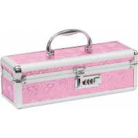 Lockable Medium Sex Toy Case Pink