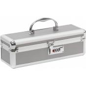 Lockable Medium Sex Toy Case Silver