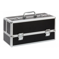 Lockable Large Sex Toy Case Black