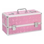 Lockable Large Sex Toy Case Pink