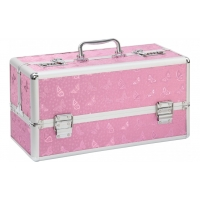 Lockable Large Sex Toy Case Pink