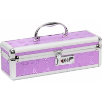 Lockable Medium Sex Toy Case Purple