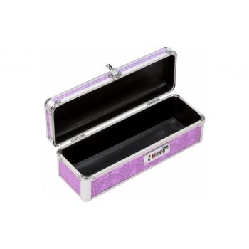 Lockable Medium Sex Toy Case Purple