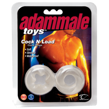 Adam Male Toys Cock N Load Cock Rings