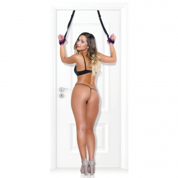 Adam & Eve Over The Door Bondage Cuffs