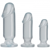 Crystal Jellies Clear Anal Starter Kit