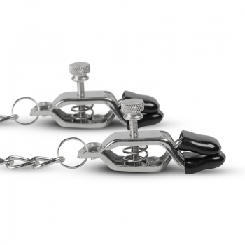 Easytoys Nipple Clamps With Chain