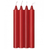 Make Me Melt Red Drip Candles 4 Pack