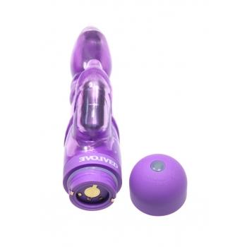 Bendable Flexems Touch Purple Vibrator
