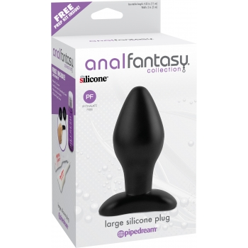 Anal Fantasy Collection Large Silicone Plug