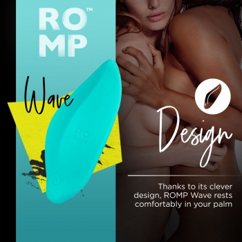 Romp Wave Rechargeable Clitoral Vibrator
