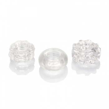 Reversible Clear Ring Set