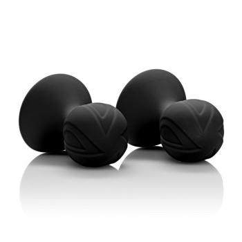 Nipple Play Black Silicone Pro Nipple Suckers