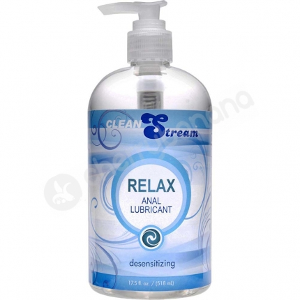 CleanStream Relax Anal Desensitizing Lubricant 518ml