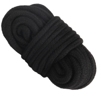 Cherry Banana Dare Black Bondage Rope Cotton 10m