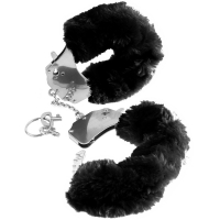 Fetish Fantasy Series Black Original Furry Cuffs