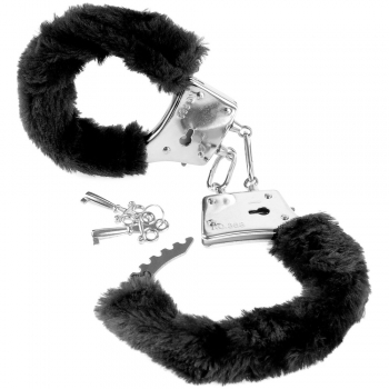 Fetish Fantasy Series Black Beginner's Furry Cuffs
