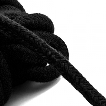 Cherry Banana Dare Black Bondage Rope Cotton 5m
