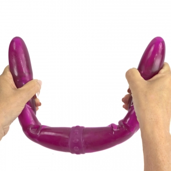 Connect 2 Vibrating Double Dildo