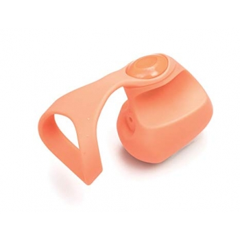 Dame Fin Orange Finger Vibrator
