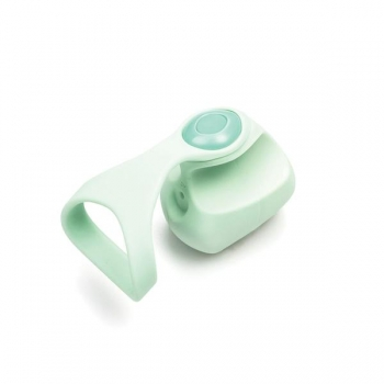 Dame Fin Teal Finger Vibrator