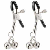 Cherry Banana Dare Nipple Clamps with Bell
