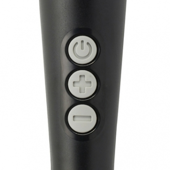 Doxy Black Extra Powerful Vibrating Wand Massager
