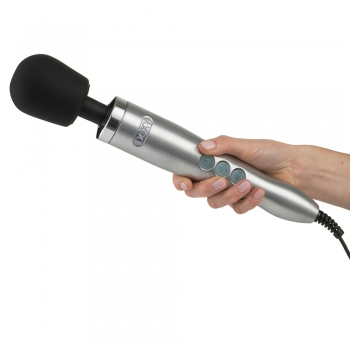 Doxy Die Cast Silver Vibrating Massager Wand
