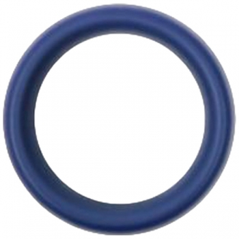 Hombre Snug Fit Blue Silicone Cock Ring