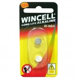 Wincell W392 Silver Oxide Cells Batteries 2 Pack