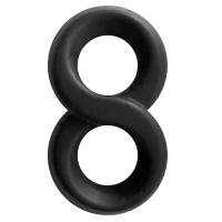Renegade Infinity Black Cock Ring