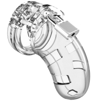 Mancage Model 01 Clear Male Chastity Cage
