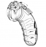 Mancage Model 04 Clear Male Chastity Cage