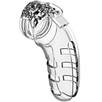 Mancage Model 06 Clear Male Chastity Cage