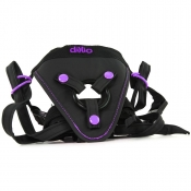 Dillio Black/Purple Perfect Fit Harness