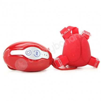 The Ladybug Tickler Red Wearable Vibrator
